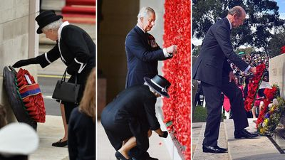 How the royals have marked Anzac day during a pandemic
