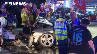 Boy, 14, charged over serious Sydney crash