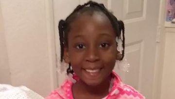 A girl found dead in a duffel bag in California has been identified as Trinity Love Jones, nine.