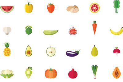 We all need to eat waaaaay more fruit and veg for optimum health