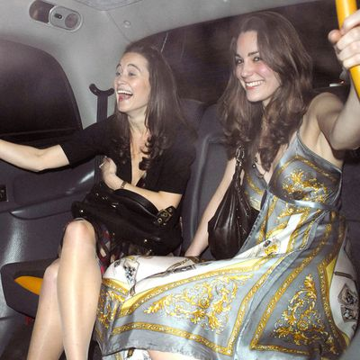 Kate and Pippa Middleton go clubbing, February 2007