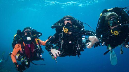Dr Fiona Sharp diving 4