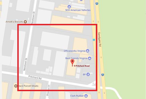 Police have established an exclusion zone surrounding the fire. (Queensland Police)
