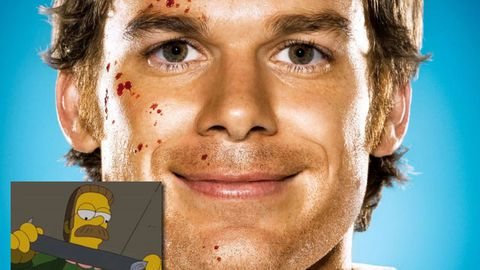 The Simpsons spoofs Dexter