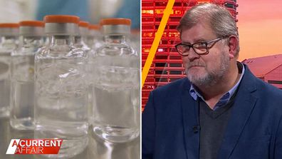 Infectious disease expert says we need to 'draw a line' with vaccine age.