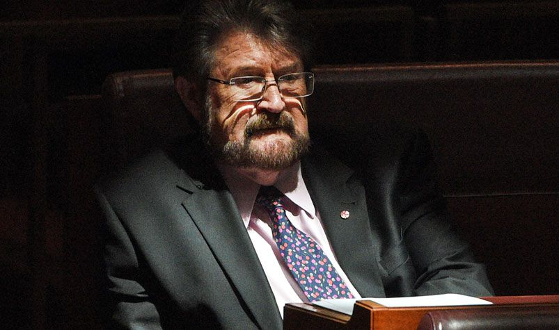 Independent senator Derryn Hinch is expecting the government to split its company tax cut bill. (AAP)