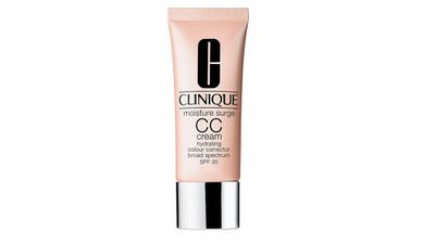 "<a href=""http://www.clinique.com.au/Moisture-Surge-CC-Cream-SPF-30-Hydrating-Colour-Corrector"" target=""_blank"">Moisture Surge CC Cream SPF 30, $45, Clinique</a>"