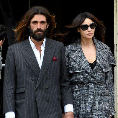Monica Bellucci, 54, and Nicolas Lefebvre, 36
