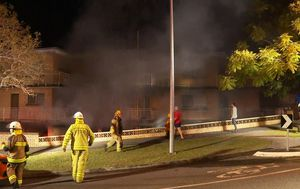Highgate Hill: Three suspicious fires in one night damage homes, cars in inner-city Brisbane suburb