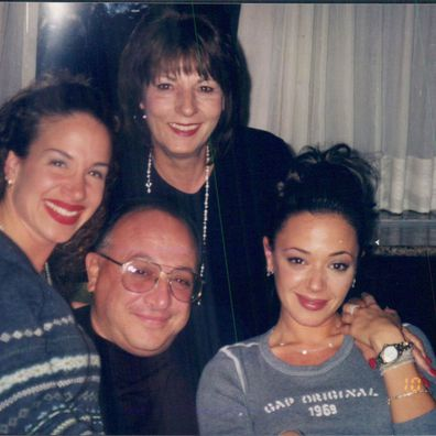 Leah Remini shared a photo of her family following the shock news of her father's death.