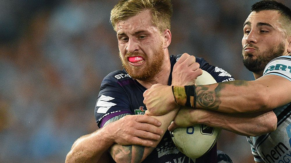 Cameron Munster in action in the grand final. (AAP)