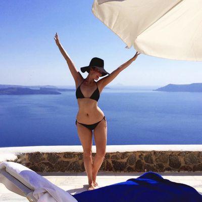 Ricki-Lee Coulter recalls glorious Greek holiday