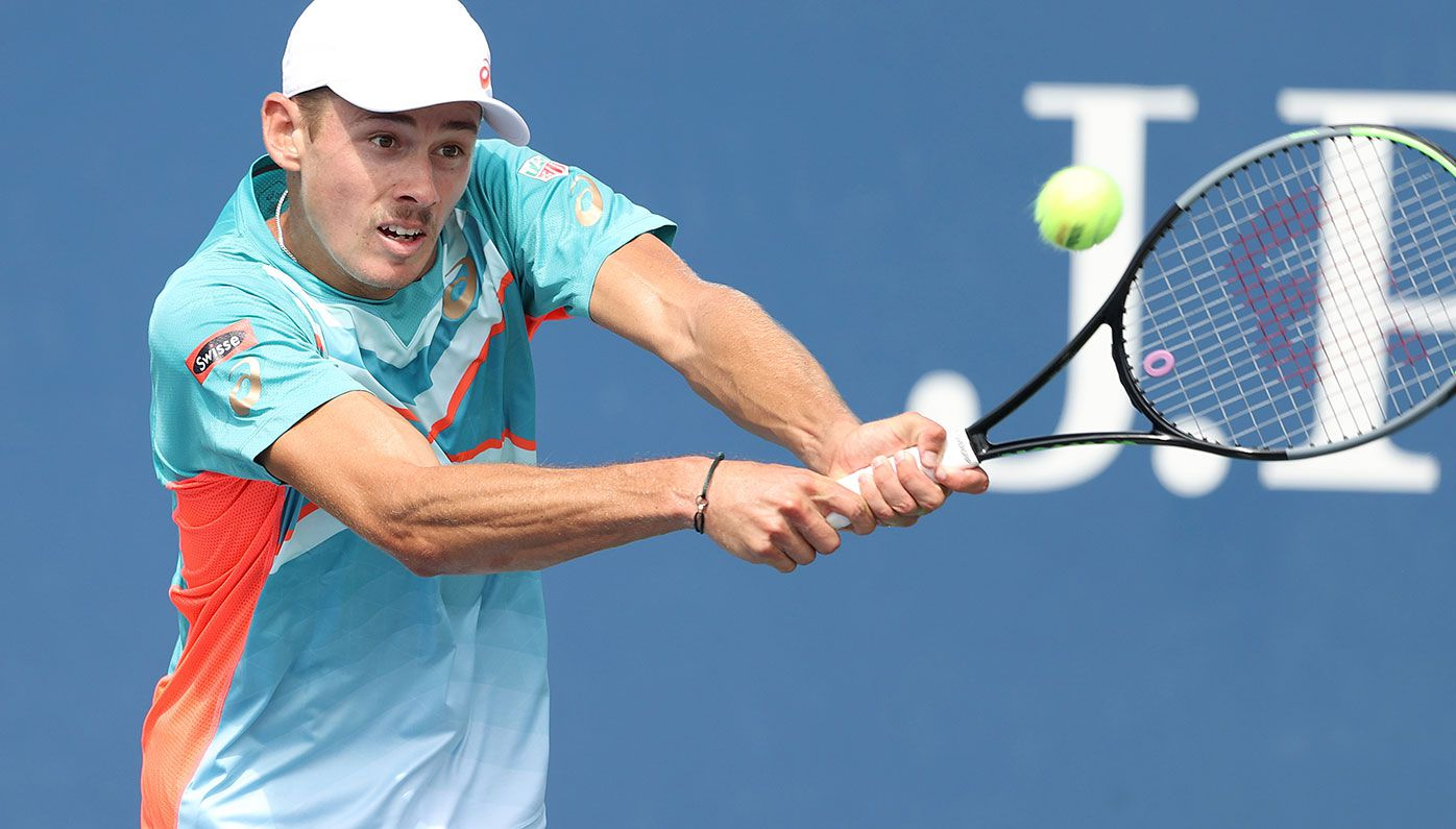 Alex de Minaur is through to the third round of the US Open.