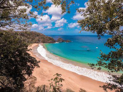 3. Baia do Sancho - Fernando de Noronha, Brazil