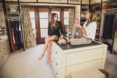 Supermodel Cindy Crawford and model daughter Kaia Gerber
