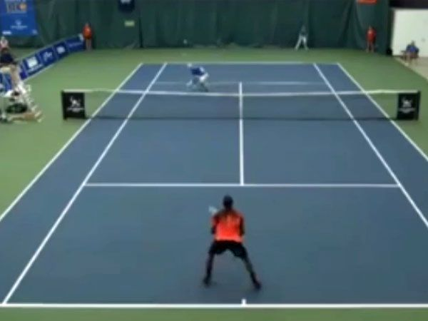 Tennis player commits 'Miss of the Decade'