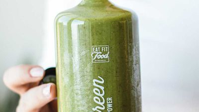"Recipe: <a href=""http://kitchen.nine.com.au/2018/02/26/15/24/green-power-smoothie-recipe"" target=""_top"">Green power smoothie</a>"
