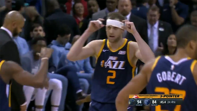 'Headband' Joe Ingles knocks down clutch triple to lead Utah Jazz to third consecutive win