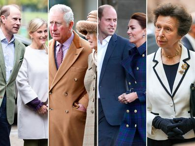 The royal 'Magnificent Seven'