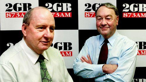 Alan Jones and John Brennan in 2002.