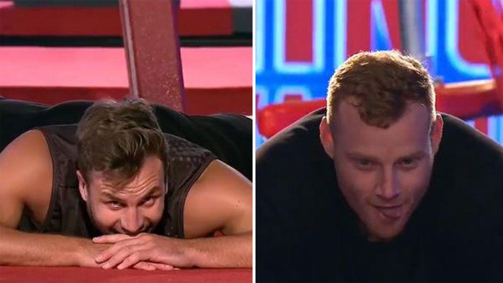 NRL funny man Beau Ryan beats AFL Brownlow Medallist Adam Cooney in Australian Ninja Warrior code battle
