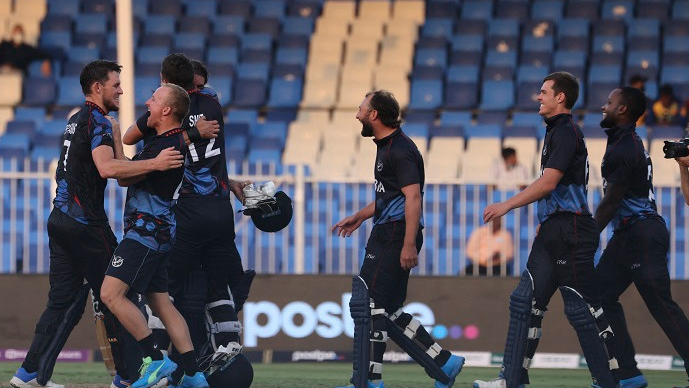 Cricket minnows pull off World Cup stunner