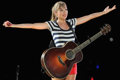 $55 million<br/><br/>Sweet blonde country-singer Tay-Tay at the ripe old age of 23 pulls in more cash than Kristen Stewart and Jennifer Lawrence combined! Sheesh!