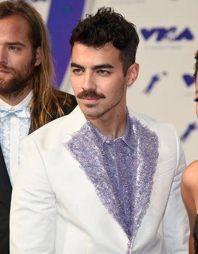 Joe Jonasat the 2017 MTV VMAs in LA, August 27.