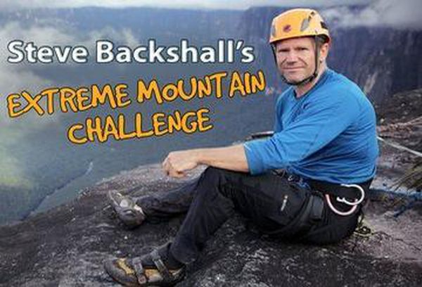 Steve Backshall's Extreme Mountain Chall