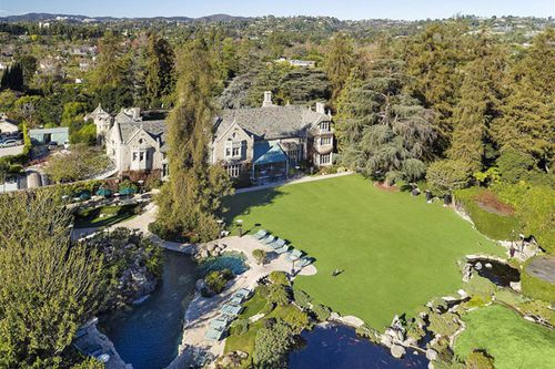 The Playboy mansion. (AAP)