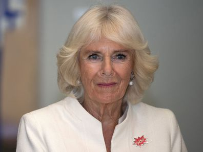 Camilla, Duchess of Cornwall during the 2019 royal tour of New Zealand