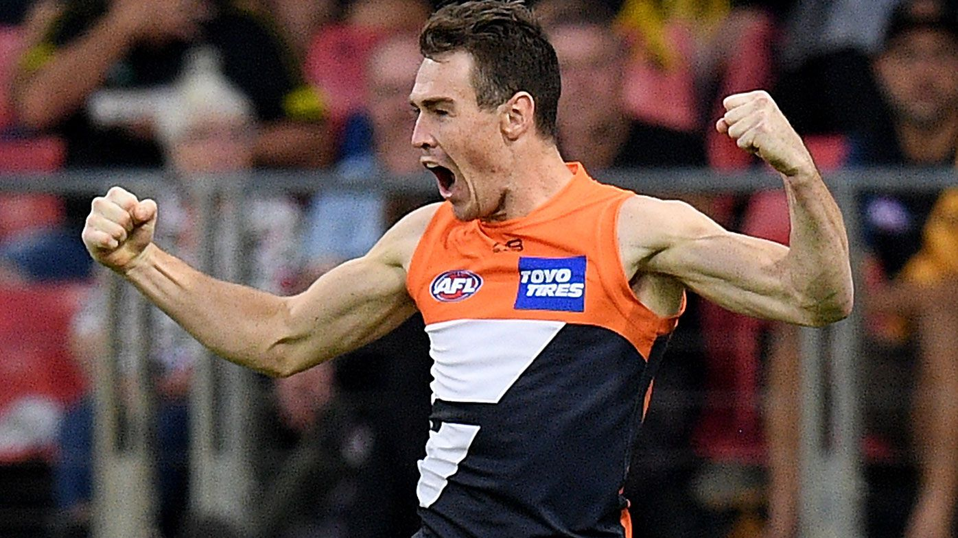 GWS Giants star Jeremy Cameron reveals 'positive' talks with club over contract extension