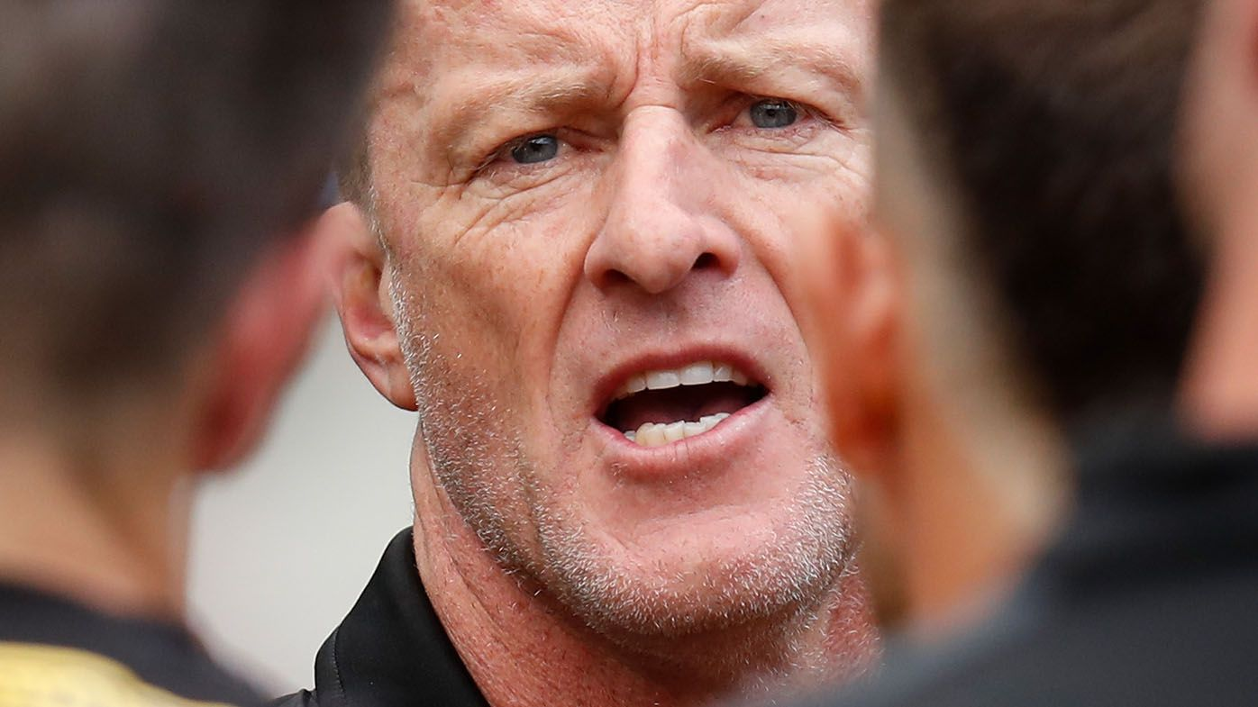 'Laughable': Richmond coach Damien Hardwick slams new rules being trialled in VFL