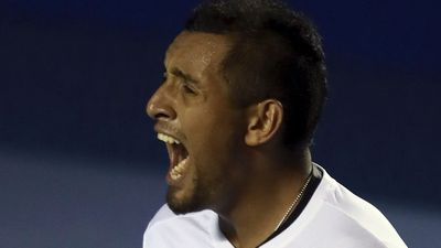 Kyrgios elated with massive scalp