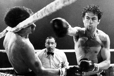 Examples: Robert De Niro in <i>Raging Bull</i> (won), Hilary Swank in <i>Million Dollar Baby</i> (won), Sylvester Stallone in <i>Rocky</i> (nominated).