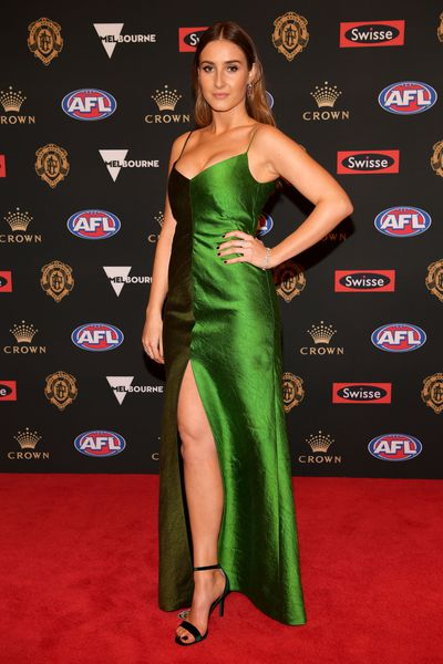 Alexandra Bourne at the 2018 Brownlow Medal, September, 2018