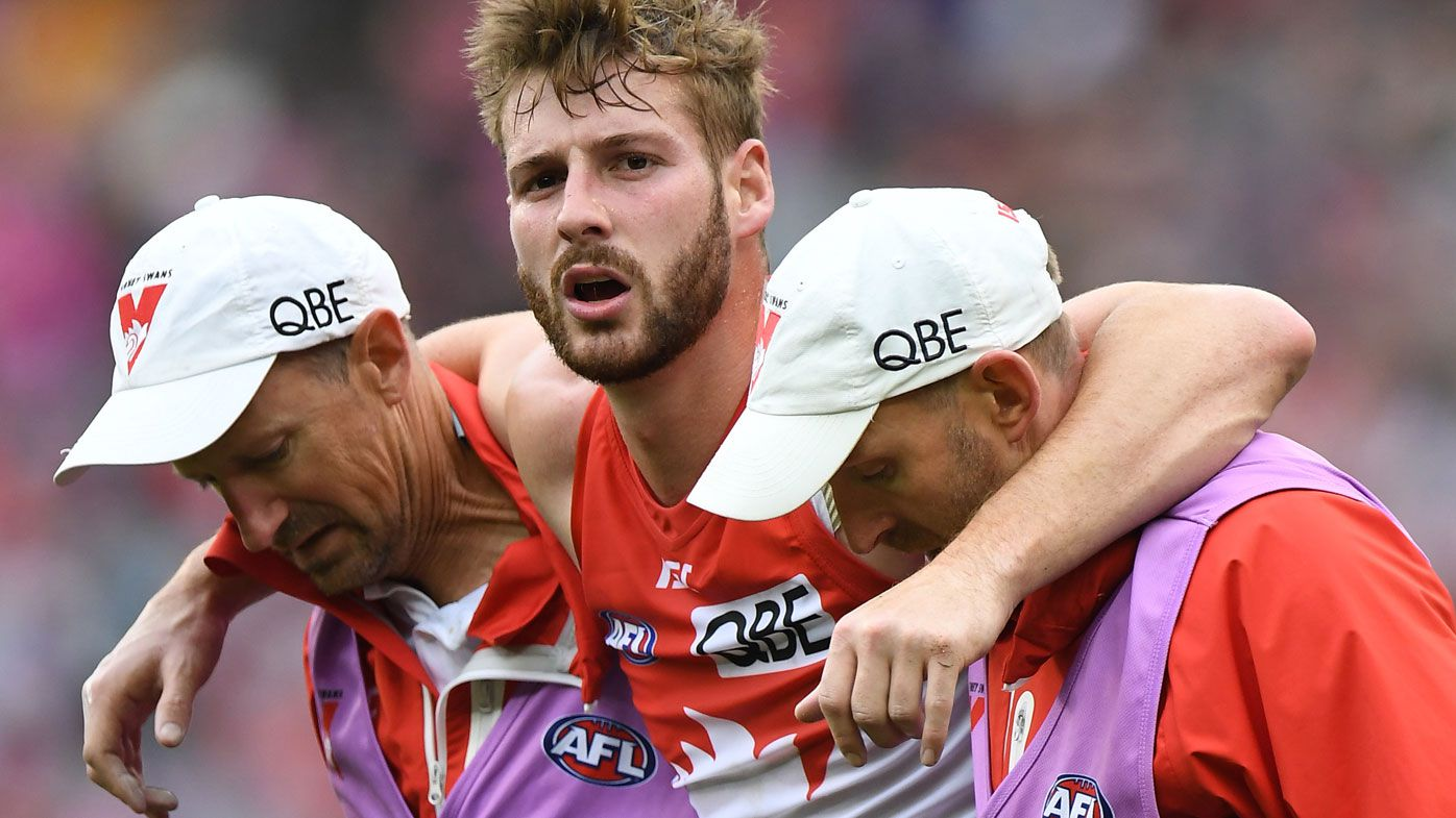 Swans star Alex Johnson faces hard road back to AFL, again