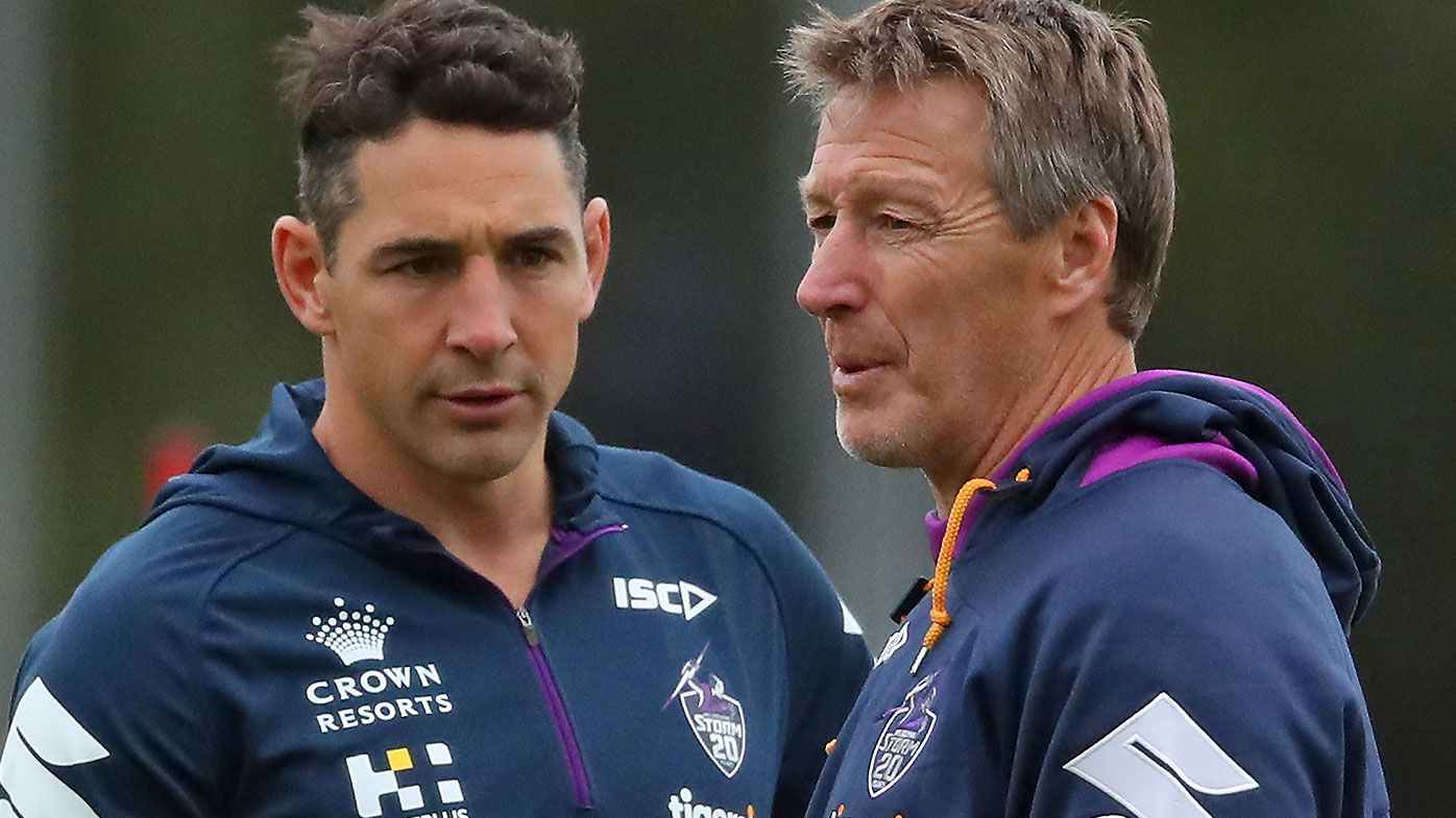 Billy Slater Craig Bellamy