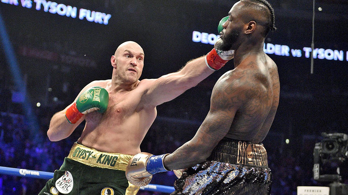 Fury calls on judge to be 'banned forever' after 'worst decision' in draw with Wilder