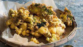 Peter Kuruvita's easy pakora Vegetable and chickpea flour fritters