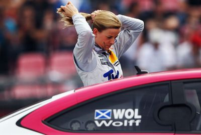 Her love of motorsport began with karting when she was eight. (Getty Images)