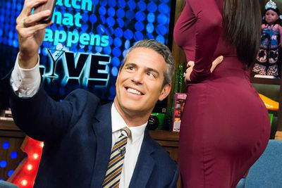 This reality star's derriere is <i>almost</i> more famous than she is... hence the Andy Cohen butt selfie.