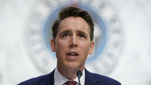 Missouri Senator Josh Hawley has been branded a 'phony' by his home state's leading newspaper.