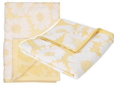 Daisies Bath Towel and Hand Towel — Kmart