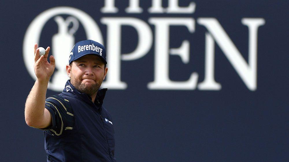 British Open: Branden Grace sets golf major championship record