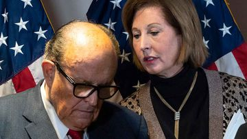 Rudy Giuliani and Sidney Powell are being sued for more than a billion dollars each by Dominion.