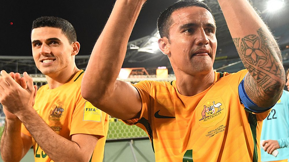 Tim Cahill keeps Socceroos in World Cup reckoning with brace against Syria