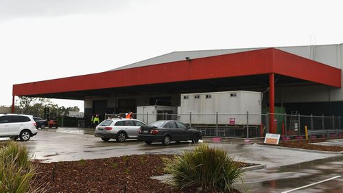 The Amazon warehouse in Dandenong has been checked over by fire authorities.