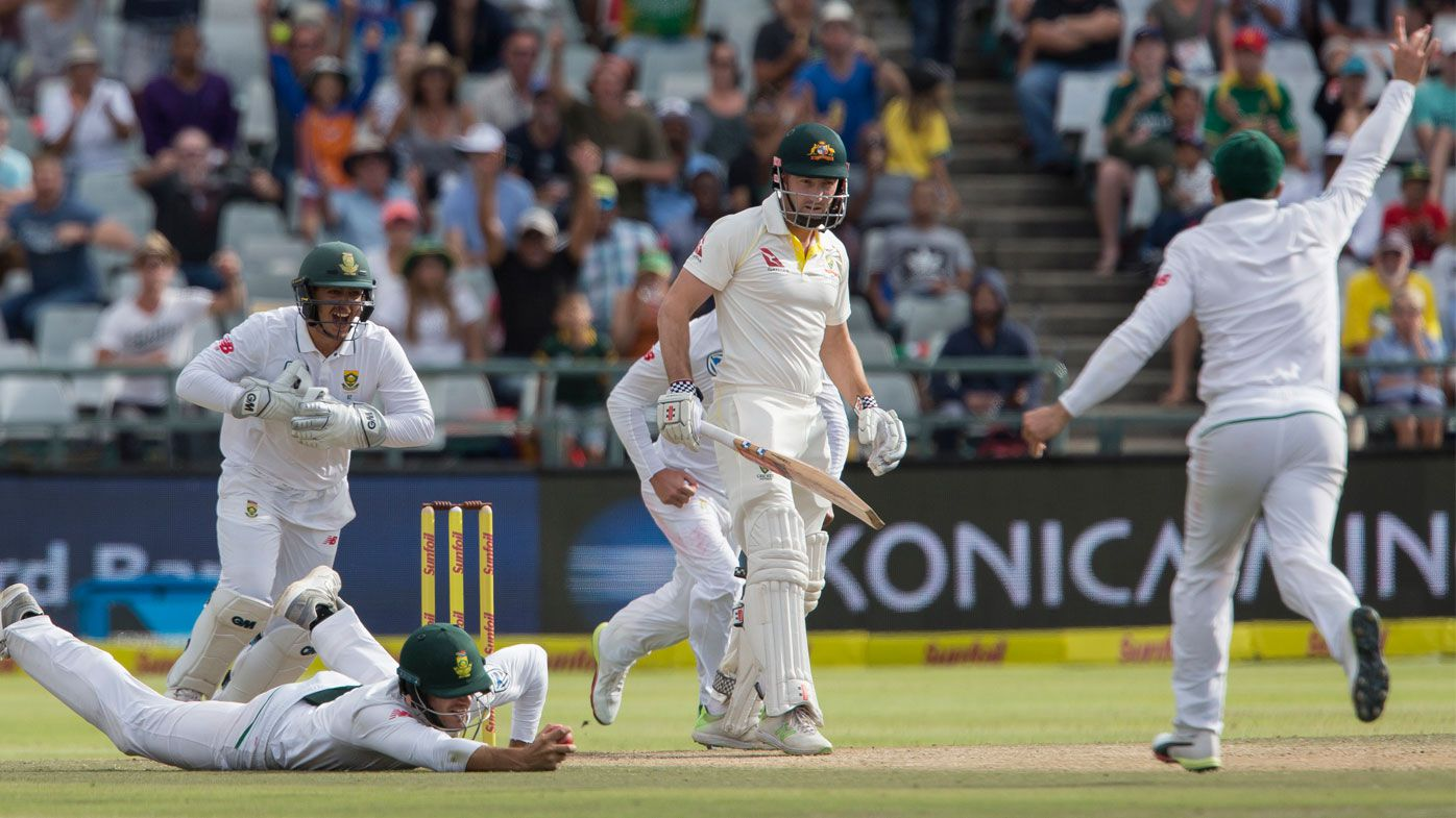 Australia loses 10-50 in woeful 322-run loss against South Africa at Cape Town