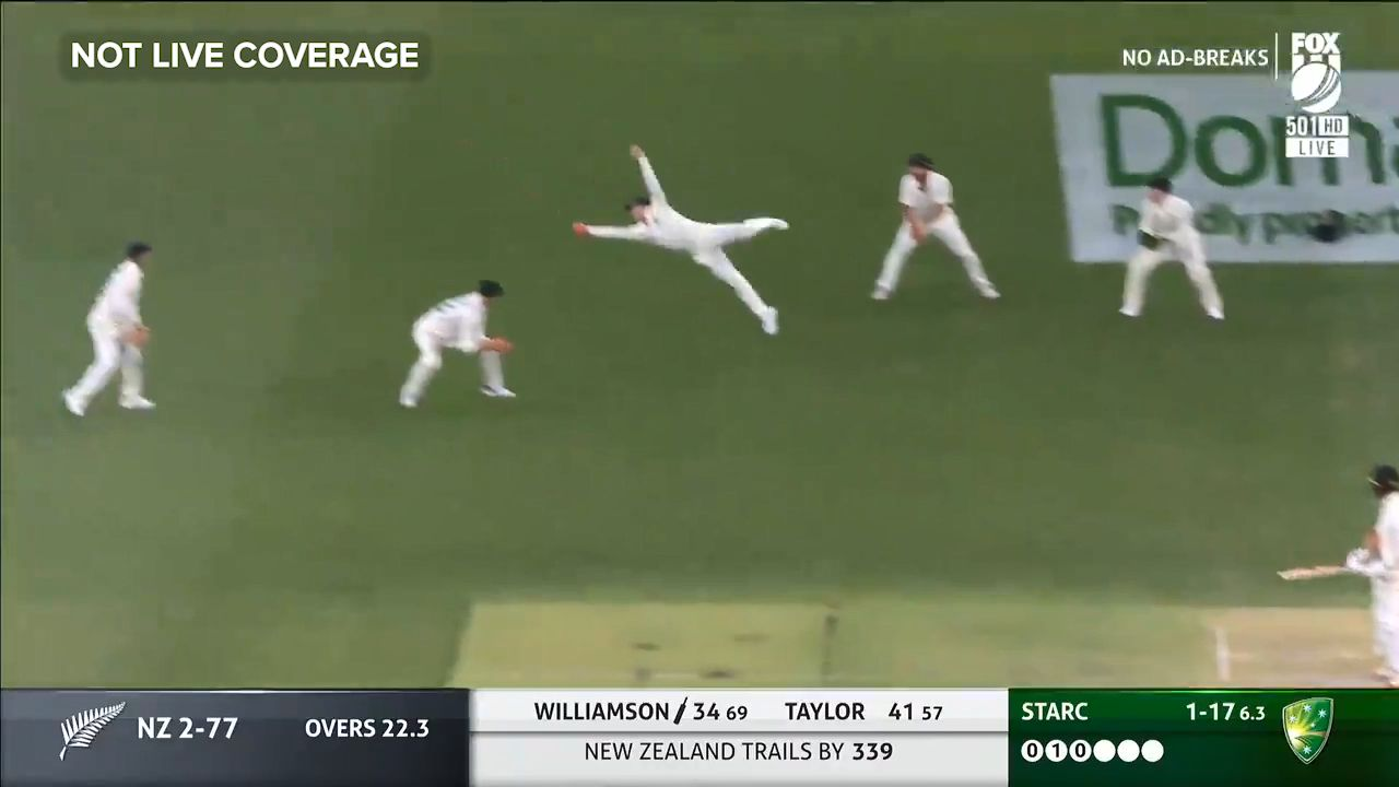 Exclusive: Mark Taylor evaluates stunning Steve Smith catch